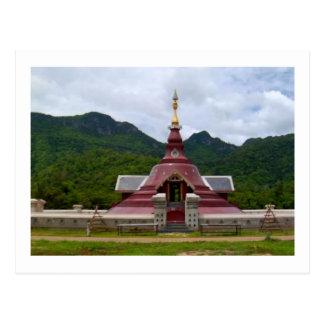 BUDDHA TEMPLE POSTCARD