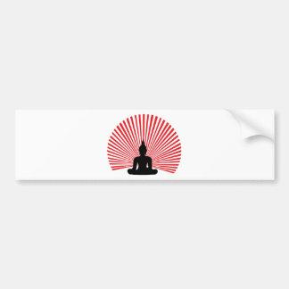 Buddha tha bumper sticker