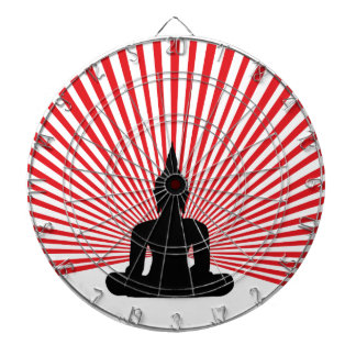 Buddha tha dartboard
