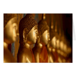Buddha Thailand Peace Tranquility Serenity Greeting Card