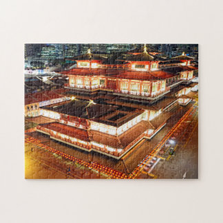 Buddha Tooth Relic Singapore. Puzzle
