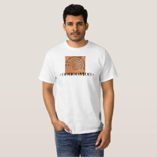 Buddha Wall Back Mantra T-Shirt