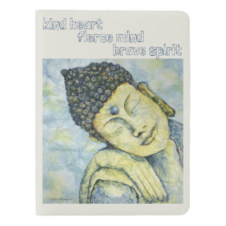 Buddha Watercolor Art Moleskin Extra Lg Notebook