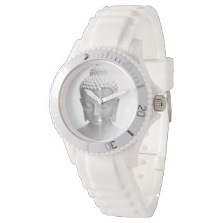 Buddha white watch
