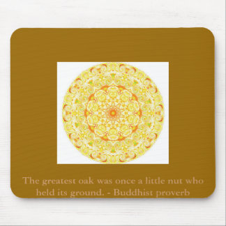 Buddha wisdom quote inspirational motivate mouse pad