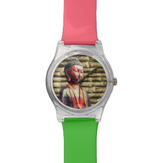 Buddha with Bamboo Wristwatches
