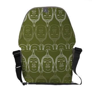 Buddha Zen Modern Pattern Graphic Vector Art Bag Commuter Bags