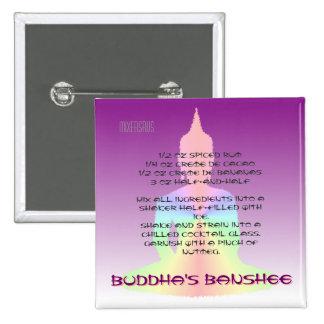 Buddha's Banshee Drink Recipe 15 Cm Square Badge