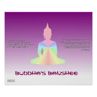Buddha's Banshee Drink Recipe Poster