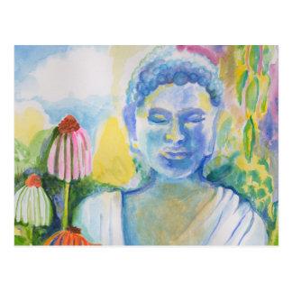 Buddha's Flower Meditation Postcard