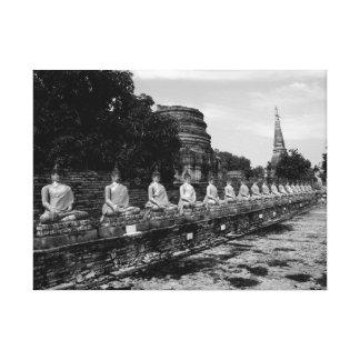 Buddhas of Ayutthaya Canvas Print