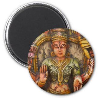 Buddhism Buddhist Spiritual Religion 6 Cm Round Magnet