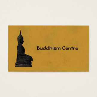 Buddhism Centre Business Card