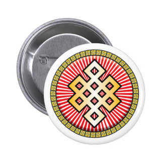 Buddhism Icon Pinback Buttons