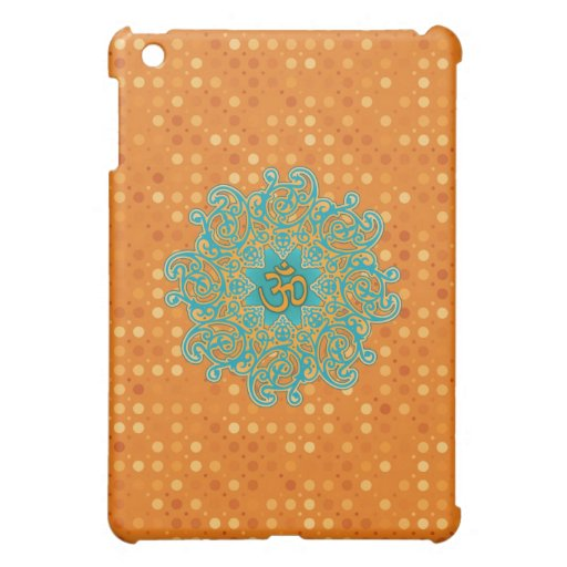 Buddhism Om (aum) mandala Ipad casing iPad Mini Cases