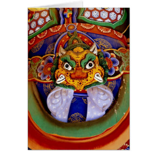 Buddhist image picture, temple card