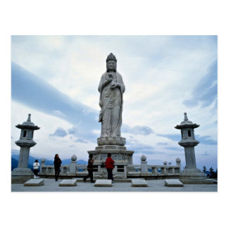 Buddhist image statue, Naksansa (temple) Postcard
