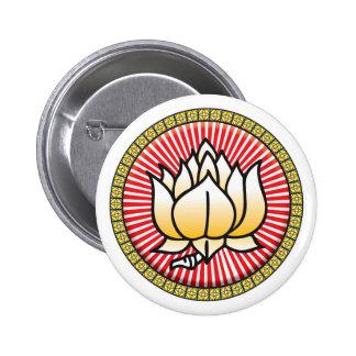 Buddhist Lotus Icon Pins