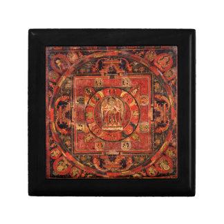 Buddhist Mandala of Compassion Gift Box