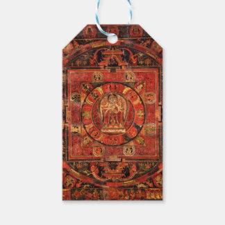 Buddhist Mandala of Compassion Gift Tags