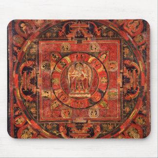 Buddhist Mandala of Compassion Mouse Pad