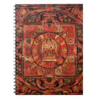 Buddhist Mandala of Compassion Notebook