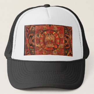 Buddhist Mandala of Compassion Trucker Hat