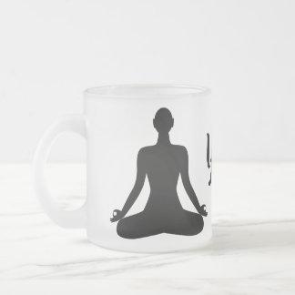 Buddhist Meditation Pose Icon Coffee Mug
