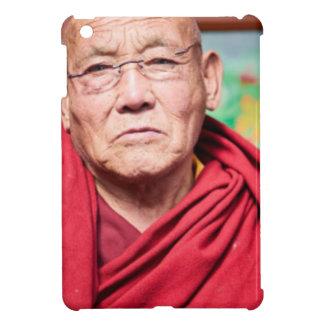 Buddhist Monk in Red Robe iPad Mini Cases