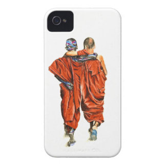 Buddhist monks Case-Mate iPhone 4 cases