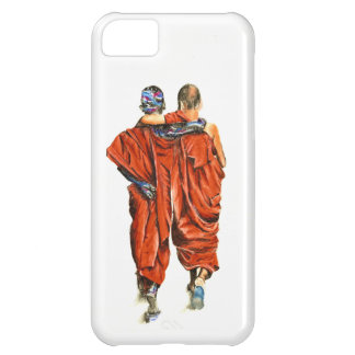Buddhist monks iPhone 5C case