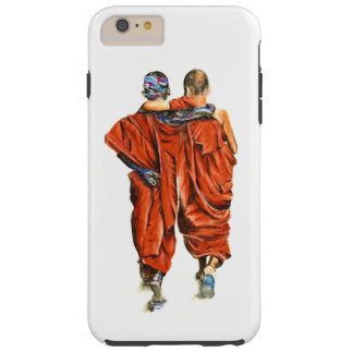 Buddhist monks tough iPhone 6 plus case
