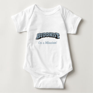 Buddhist - On a Mission! Baby Bodysuit