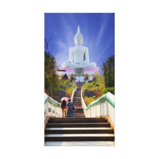 Buddhist Pilgrimage Canvas Print