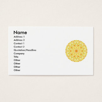 Buddhist quote and beautiful peaceful art business card