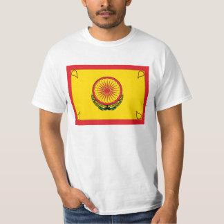 Buddhist Socialist Flag - Buddhist Socialism T-Shirt