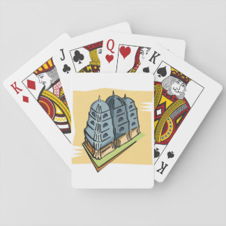 Buddhist Temple Playing Cards