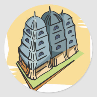 Buddhist Temple Stickers