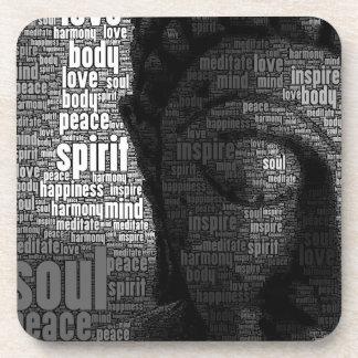 Buddhist Words of Wisdom Beverage Coaster