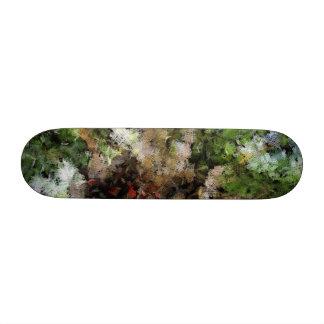 Budding plant skate decks