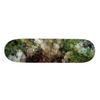 Budding plant skateboard