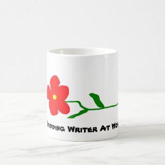 Budding Writer At Work ~ Mug