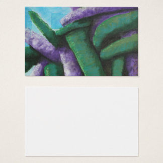 Buddleia Abstract Business Card