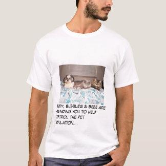 Buddy, Bubbles & Bebe T-Shirt