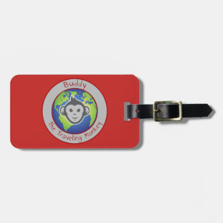 Buddy Logo Luggage Tag