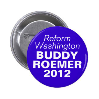 Buddy Roemer 2012 6 Cm Round Badge