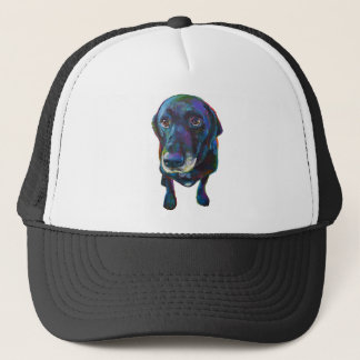 Buddy the Black Labrador Trucker Hat