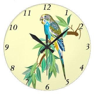 budgerigar clock