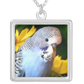 Budgerigar necklace (Square)