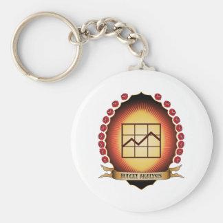 Budget Analysis Mandorla Key Chain